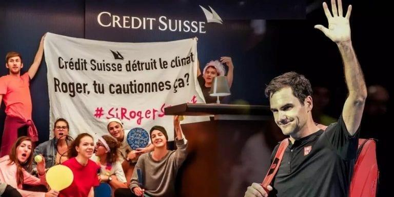 Roger federer crédit suisse climat