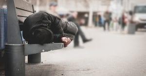 SDF mort dans la rue
